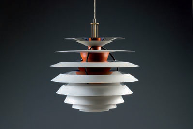 poul henningsen s contrast is one of the ph lamps with the most ...